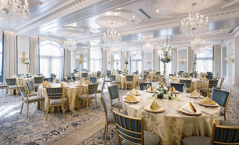 Hotel Carmichael ballroom