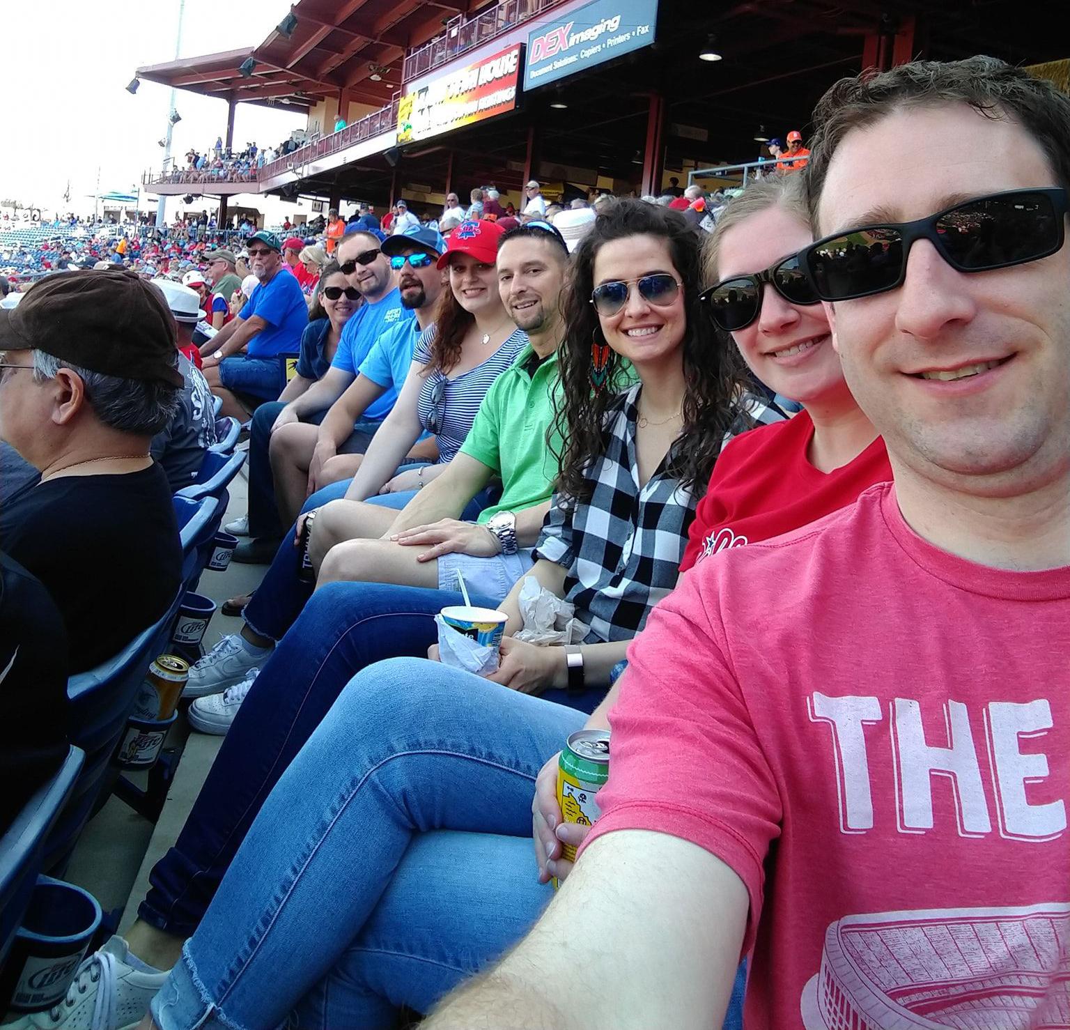 YPs at February 2020 baseball game